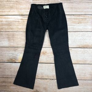 "Current Elliot vegan ""leather"" pants black 27"